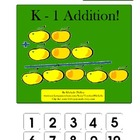K-1 Addition! File Folder Game (adding using manipulatives)