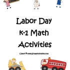 K-1 Labor Day Math Activities