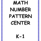 K-1 Math Number Pattern Center