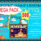 K-1 Primary Monthly Journal Mega Pack: Set 1