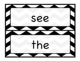 K-1 Sight Words, Chevron Design