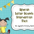 K-1 Spanish Letter Sounds Intervention Pack