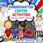 K-1 Yearlong, Hands-On Literacy, Math, and Writing Activit