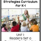 K-1st Reading Comprehension Unit 1:  Readers Read for a Purpose