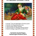 K-3 Holiday Literacy Pack (Common Core Aligned)