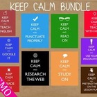 KEEP CALM Posters FREE Demo Bundle - Great for Teacher Gifts!