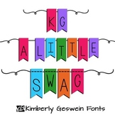 KG A Little Swag Font: Personal Use