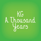 KG A Thousand Years Font: Personal Use