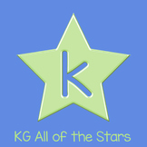 KG All of the Stars Font: Personal Use