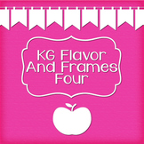 KG Flavor And Frames Four Font: Personal Use