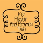 KG Flavor And Frames Two Font: Personal Use