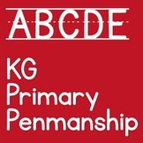 KG Primary Penmanship Lined Font: Personal Use