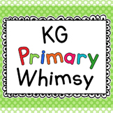 KG Primary Whimsy Font: Personal Use