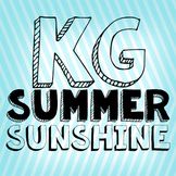 KG Summer Sunshine Font: Personal Use