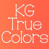 KG True Colors Font: Personal Use