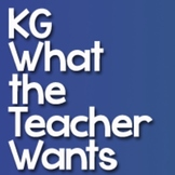 KG What the Teacher Wants Font: Personal Use