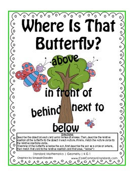 K.G.1 Kindergarten Common Core Worksheets, Activity, and Poster