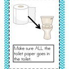 KID FRIENDLY Bathroom Book or Posters: Expectations for Us