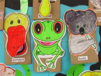 KOALA SONG - BARRY BOTTLER'S BEAUT BUSH BAG BUDDIES PAPER