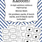 Kaboom! - Two Digit Addition without regrouping - Mental Math