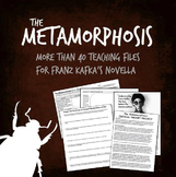 Kafka's The Metamorphosis unit plan, handouts, worksheets,