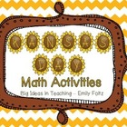 Kansas Day Symbols  Math Activites  - Fun Stuff!!