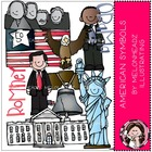 Katie&#039;s American symbols combo pack by melonheadz
