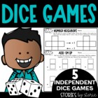 Keep on Rollin' 2 (5 More Independent Dice Games for Math