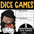 Keep on Rollin' 3 (5 Independent Dice Games for Math Workshop)