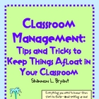 Keeping Things Afloat in Your Classroom (Classroom Management)