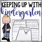 Keeping Up With Kindergarten - Summer Review for Kindergarten