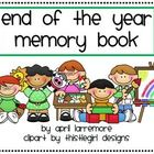 Keepsake End of the Year Memory Book