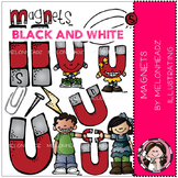 Kelsey's Magnet black and white bundle by melonheadz