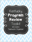 Kentucky Program Review Toolkit & Professional Portfolio O