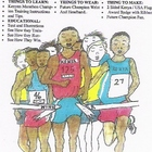 Kenyan Champion Marathon Runners-Coloring and Workbook/Kit.
