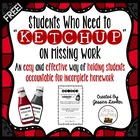 """Ketchup List"" Homework Management"