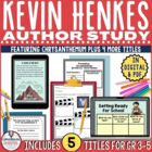 Kevin Henkes Author Study Back to School