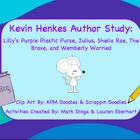 Kevin Henkes Author Study Part 2 (Activities, Graphic Orga