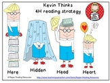 """Kevin Thinks"" - 4H reading strategy resource for learning"