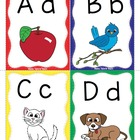 Key Word Alphabet Flash Cards