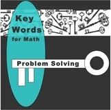 Key Words for Math Problem Solving