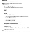 Keyboarding/ Computer Applications/Earth Sciences Instruct