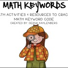 Keyword Kids {Games and Activities with Math Keywords}