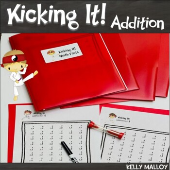 Addition Facts Fluency Program - Kicking It Math