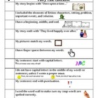 Kid Friendly Fairy Tale Writing Checklist