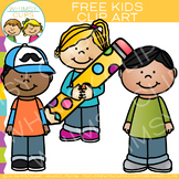 Kids Clip Art Freebie