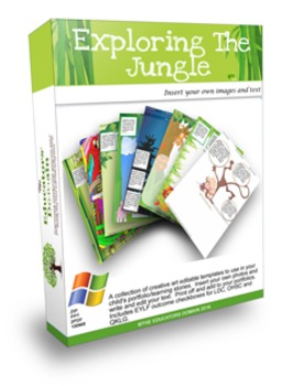 Kids Craft Jungle Printable's over 200 Activity sheets