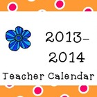 Kids Cupcakes N Common Core *2013-2014* Teacher Calendar F