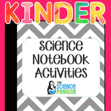 Kindergarten Interactive Science Notebook Activities