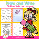 Kinderbykim&#039;s Draw and Write